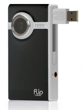 Black Flip Video Ultra1 The 10 Most Useful Travel Gadgets of 2010