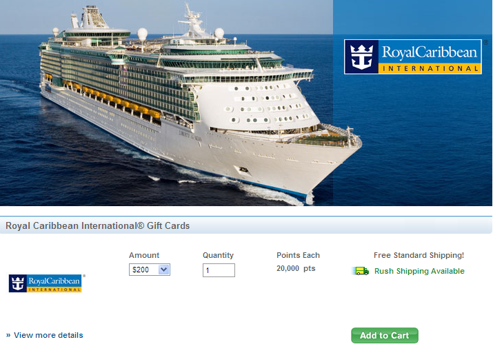 Using Royal Caribbean Gift Certificates Gift Ftempo