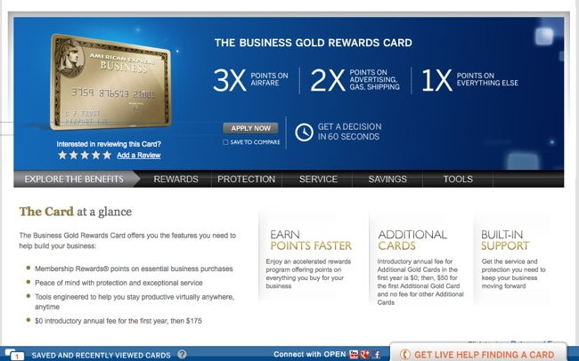 amex business gold page no 75000 bonus