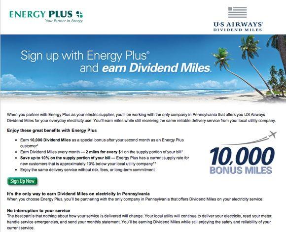 usairways energyplus page