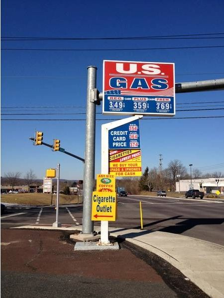 us gas station prices