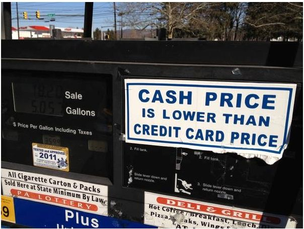 us gas station - prepay first