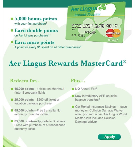 aer lingus application