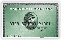 Picture of American Express Green Card