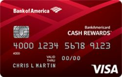 Picture of BankAmericard Cash Rewards Credit Card For Students