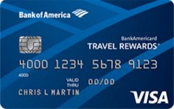 Picture of Bank of Ameica® Travel Rewards Credit Card for Students