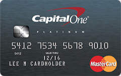 Picture of Capital One® Platinum Credit Card