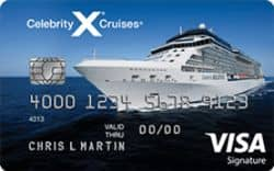Picture of Celebrity Cruise Visa Signature