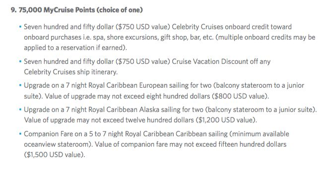 celebrity mycruiserewards