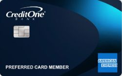 Picture of Credit One Bank American Express Card