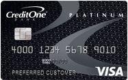 Picture of Credit One Bank® Platinum Visa® For Rebuilding Credit