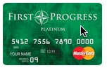 First Progress Secured MasterCard for no credit