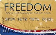 Picture of Freedom Gold Card
