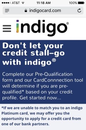 indigo application form