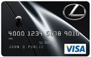 lexus credit card