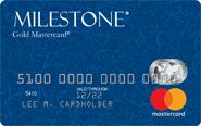 Picture of Milestone® Mastercard® With Free Choice Of Card Image At No Extra Charge