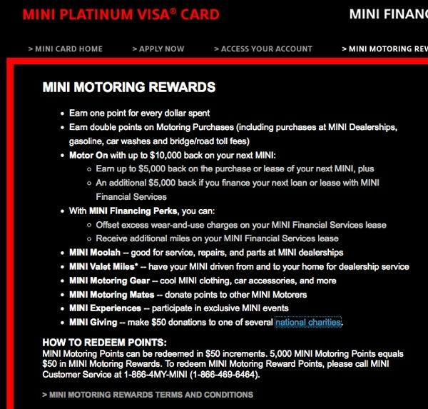 mini rewards