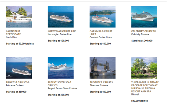 membership rewards cruise partners