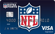 Picture of NFL Extra Points Credit Card