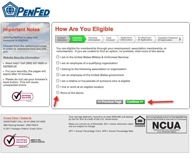 penfed application page 3