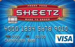 Picture of Sheetz Secured Visa