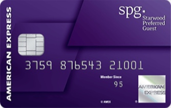 Picture of Starwood Preferred Guest® Credit Card from American Express