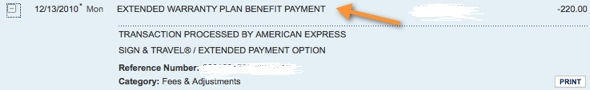 American Express Extended Warranty Covered My Iphone Repair